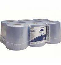 фото: Протирочный материал Kimberly-Clark Kimtech Wettask DC 7732 12 рулонов, с тубой, 35 листов, 1 слой, белые