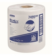 Протирочные салфетки Kimberly-Clark WypAll Х90 12889 синие, 450шт, 2 слоя