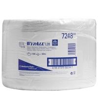 Протирочный материал Kimberly-Clark WypAll L20, 7248, общего назначения, в рулоне, 380м, 2 слоя, бел