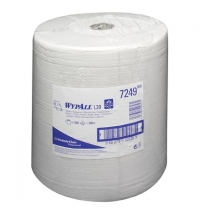 Протирочный материал Kimberly-Clark WypAll L20, 7249, общего назначения, в рулоне, 380м, 2 слоя, бел