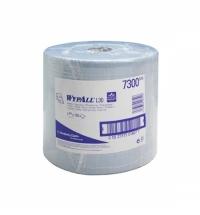 Протирочный материал Kimberly-Clark WypAll L20, 7300, для сильных загрязнений, в рулоне, 190м, 2 сло