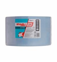 Протирочный материал Kimberly-Clark WypAll L20, 7317, для сильных загрязнений, в рулоне, 380м, 2 сло