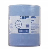 Протирочный материал Kimberly-Clark WypAll L20, 7356, общего назначения, в рулоне, 380м, 2 слоя, син