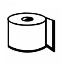 Протирочный материал Kimberly-Clark WypAll Х60 8380, высокая впитываемость, в рулоне с центральной вытяжкой, 150 листов