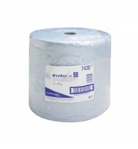 Протирочный материал Kimberly-Clark WypAll L40, 7426, высокая впитываемость, в рулоне, 285м, 3 слоя,