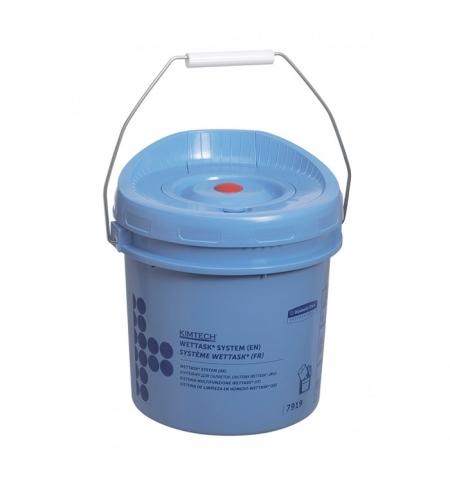 фото: Ведро-диспенсер для протирочных салфеток Kimberly-Clark Wettask 7919, синий