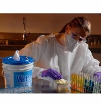 фото: Протирочные салфетки Kimberly-Clark Kimtech Science 7552 листовые, 280шт, 1 слой, белые