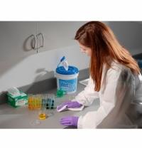 фото: Протирочные салфетки Kimberly-Clark Kimtech Pure 7624 листовые, 35шт, 1 слой, белые