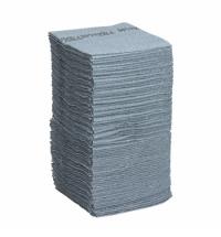 фото: Протирочные салфетки Kimberly-Clark Wypall Forcemax 7569, листовые, 480шт, 1 слой, голубые