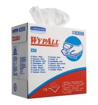 Протирочные салфетки Kimberly-Clark WypAll X50 8355, листовые, 750шт, 1 слой, белые