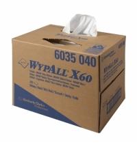 Протирочные салфетки Kimberly-Clark WypAll X60 6035, белые, 200 листов, 1 слой, 31.7 х 42.6см