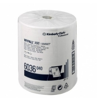 Протирочные салфетки Kimberly-Clark WypAll X60 6036, 750шт, 1 слой, белые