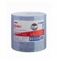 фото: Протирочные салфетки Kimberly-Clark WypAll Х90 12889, синие, 450шт, 2 слоя