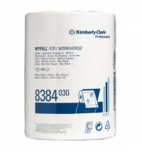 фото: Протирочный материал Kimberly-Clark WypAll X70, 8384, высокая впитываемость, в рулоне, 190м, 1 слой,