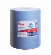 фото: Протирочный материал Kimberly-Clark WypAll Х60, 8371, высокая впитываемость, в рулоне, 190м, 1 слой,