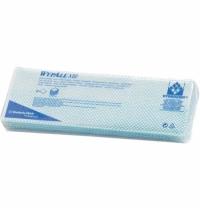 Протирочные салфетки Kimberly-Clark WypAll Х80 7565, листовые, 25шт, 1 слой, синие