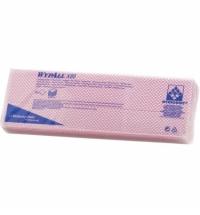 фото: Протирочные салфетки Kimberly-Clark WypAll Х80 7568, листовые, 25шт, 1 слой, красные