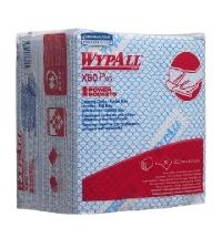 Протирочные салфетки Kimberly-Clark WypAll Х80 Plus 19139, листовые, 30шт, синие