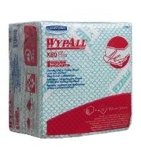 Протирочные салфетки Kimberly-Clark WypAll Х80 Plus 19154, листовые, 30шт, зеленые