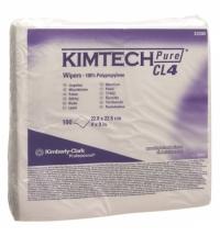 Протирочные салфетки Kimberly-Clark Kimtech Pure CL4 7605, индивидуальные, 100шт, белые