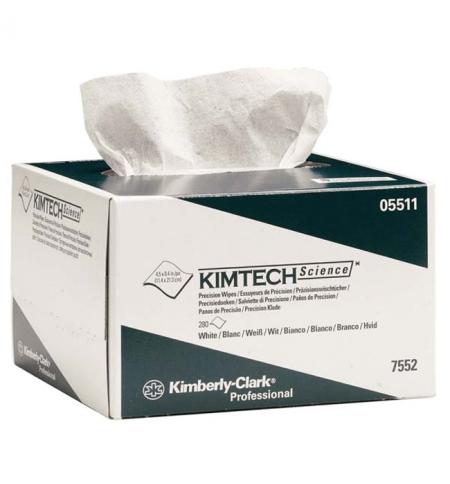 фото: Протирочные салфетки Kimberly-Clark Kimtech Science 7552, листовые, 280шт, 1 слой, белые