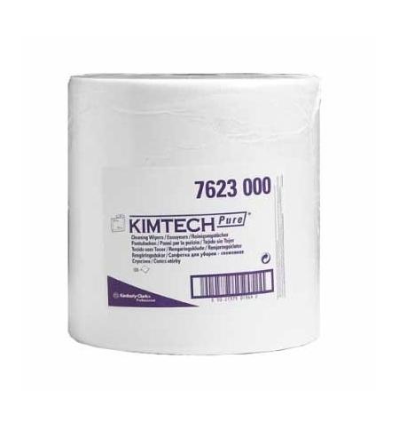 фото: Протирочный материал Kimberly-Clark Kimtech Pure, 7623, для чистых помещений, в рулоне, 223м, 1 слой