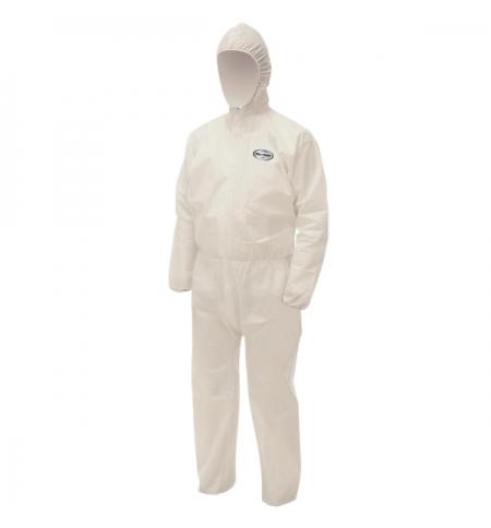 фото: Комбинезон воздухопроницаемый Kimberly-Clark Kleenguard A20+ 95170, белый, L, 1шт
