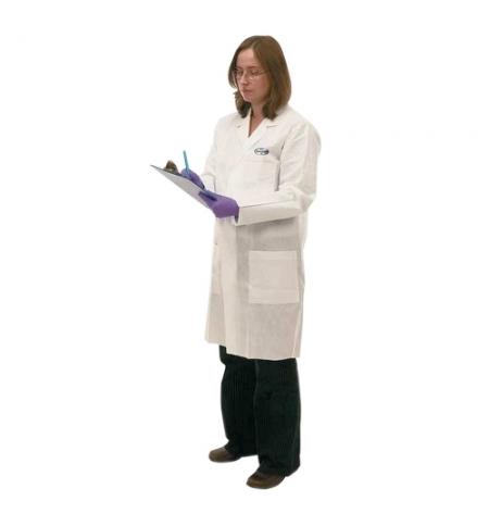 фото: Халат лабораторный Kimberly-Clark Kimtech A7 96710, белый, M