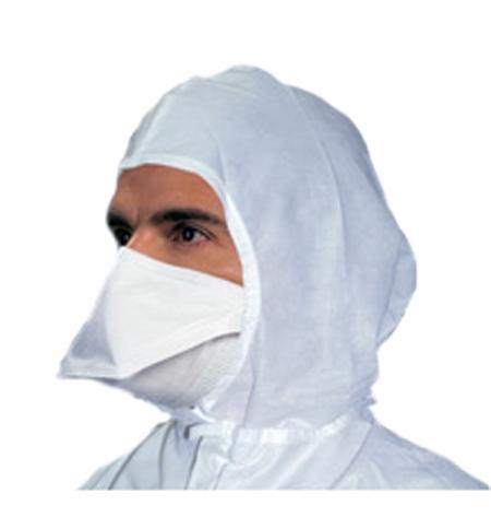 фото: Маска Kimberly-Clark Kimtech Pure M3 62484, нестерильная, белая, в форме утиного носа