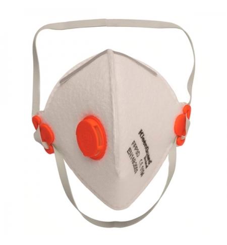 фото: Респиратор Kimberly-Clark Kleenguard М30 62980, с клапаном, сложенный