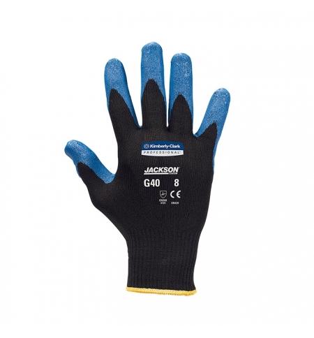 фото: Перчатки защитные Kimberly-Clark Jackson Kleenguard G40 40227, общего назначения, L, синие, 12 пар
