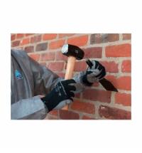 фото: Перчатки защитные Kimberly-Clark Jackson Kleenguard Smooth G40 97271 черн/сер, M