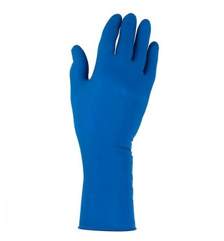 фото: Перчатки защитные Kimberly-Clark Jackson Safety G29 Solvent 49823, нитриловые, S, синие, 25 пар
