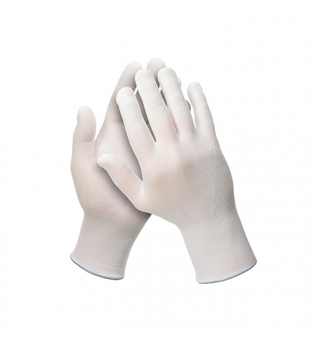 фото: Перчатки защитные Kimberly-Clark Jackson Safety G35 38717, 1 категория, нейлон, белый, р.S 12пар