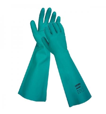 фото: Перчатки защитные Kimberly-Clark Jackson Safety G80 25624, защита от химикатов, XL, зеленые