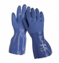 Перчатки защитные Kimberly-Clark Кleenguard G80 97250, защита от химикатов, XL, синие, 12 пар