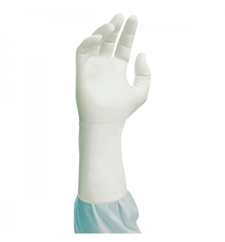 фото: Перчатки нитриловые Kimberly-Clark белые Kimtech Pure G3, HC61110, XL, 20 пар