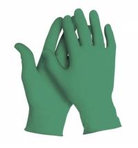 фото: Перчатки нитриловые медицинские Kimberly-Clark зеленые Kimtech Science Green Nitrile, 99853, L, 125 пар