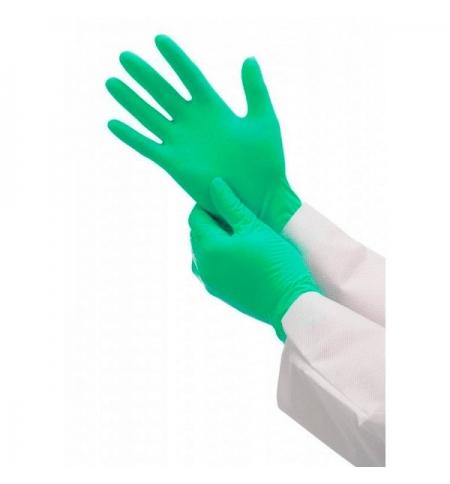 фото: Перчатки нитриловые медицинские Kimberly-Clark зеленые Кleenguard G20, 90091, S, 125 пар