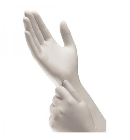 фото: Перчатки нитриловые Kimberly-Clark серые Kimtech Pure G3 Sterling, M+, 30 пар, стерильные, ISO 5 кла