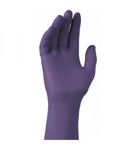 фото: Нитриловые перчатки Kimberly-Clark фиолетовые Kimtech Science Nitrile Xtra, 97611, нитриловые, S, 25