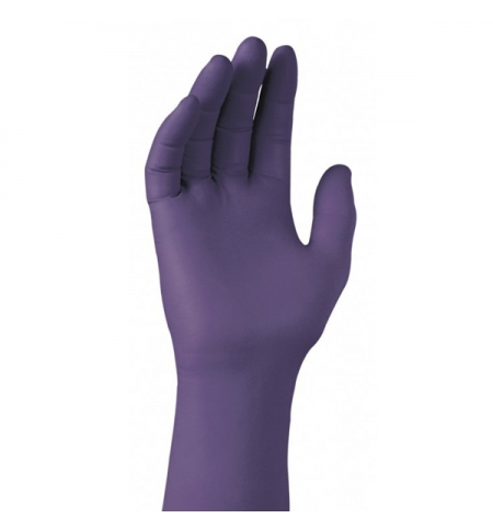 фото: Перчатки нитриловые фиолетовые Кимберли-Кларк Kimtech Science Purple Nitrile Xtra, 97613, L, 25 пар