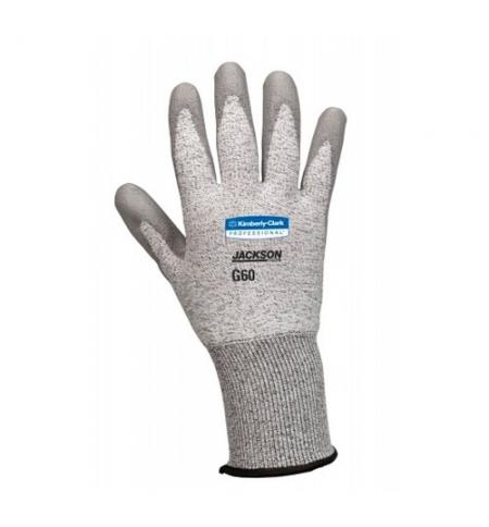 фото: Перчатки от порезов Kimberly-Clark Jackson Safety G60 13824, 3 категория, серый, р.8