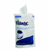 Дезинфицирующие салфетки Kimberly-Clark Kleenex 7783, белые, 19 х 22см, 100 листов, сменный блок