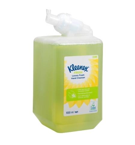 фото: Пенное мыло в картридже Kimberly-Clark Kleenex Fresh Luxury 6386, 1л, с цветочным ароматом