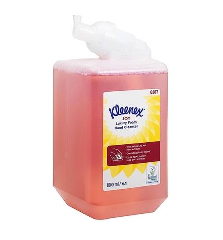 фото: Пенное мыло в картридже Kimberly-Clark Kleenex Joy Luxury 6387, 1л, с ароматом спелых фруктов