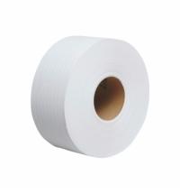 фото: Туалетная бумага Kimberly-Clark Jumbo 8024, в рулоне, белая, 200м, 2 слоя, 38х9.5см