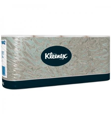 фото: Туалетная бумага Kimberly-Clark Kleenex 8442, 8 рулонов, 2 слоя, белая