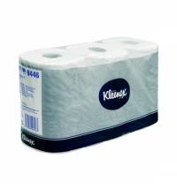 фото: Туалетная бумага Kimberly-Clark Kleenex 8446, 6 рулонов, 2 слоя, белая, без аромата