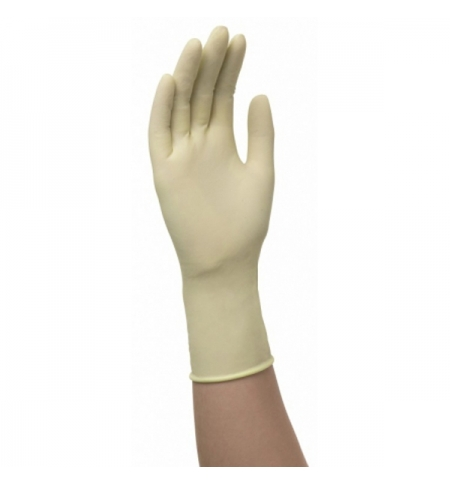 фото: Латексные перчатки Кимберли-Кларк Professional Pfe-Xtra 50502, M, бежевые, 50 шт